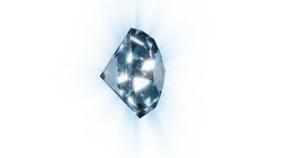 Diamond rotating,looping Stock Video Footage