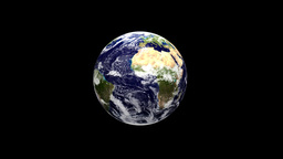 Earth globe and ivy growing to surround the planet,Alpha... Stock Video Footage
