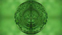 Green tea globe Stock Video Footage