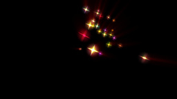 Holiday stars background Stock Video Footage