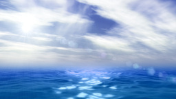 Ocean and sky animation Animation