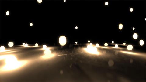 light yellow balls closeup Stock Video Footage