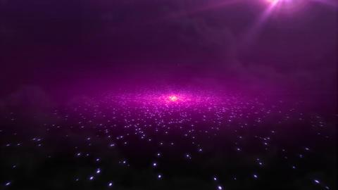 light sky red galaxy Stock Video Footage