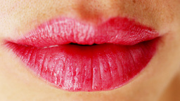 sexy lips mouth pucker kiss Footage