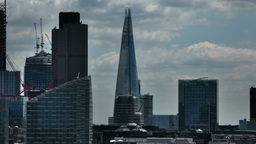 shard tower london business district financial england Footage