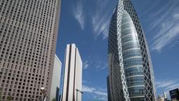 office skyscraper architecture tokyo skyline timelapse japan Footage