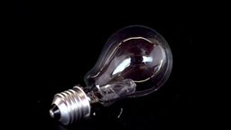 Light bulb smahsed with a hammer Footage