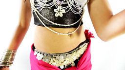 traditional oriental belly dancer female woman Footage