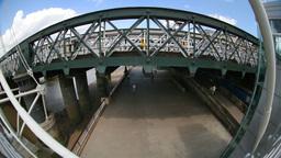 london southbank fisheye Footage