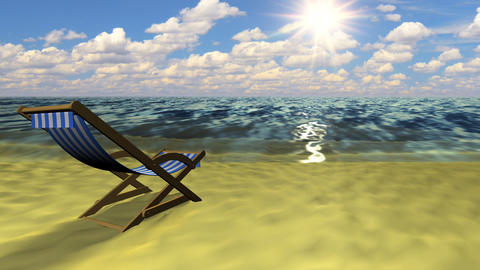 Relax on the beach Animation