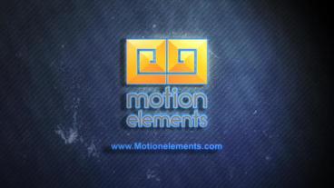 Neon Lights Logo Reveal stock footage