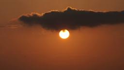 sunset menorca sky clouds Footage