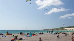 kite surfin tarifa, spain Footage