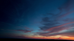 Amazing Sunset With Beautiful Colors stock footage