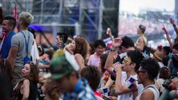 crowds japan event entertainment stage music dj ビデオ