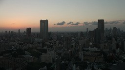 tokyo japan city future skyscrapers skyline destination timelapse Footage