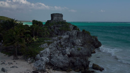 mayan ruins mexico tulum Footage