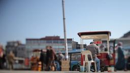 turkey street scene istanbul Footage