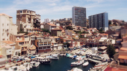 timelapse of boats and yachts marseille france Filmmaterial