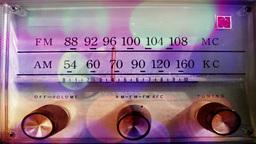 vintage radio dial Footage