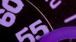 clock face extreme macro Footage