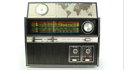 vintage radio dial frequence Footage