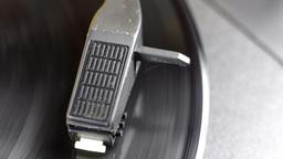 yellow vinyl records turntable music sound audio Footage