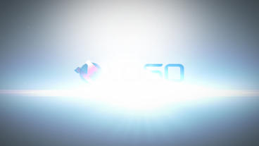 Simple Flare Light Logo Reveal After Effects Template