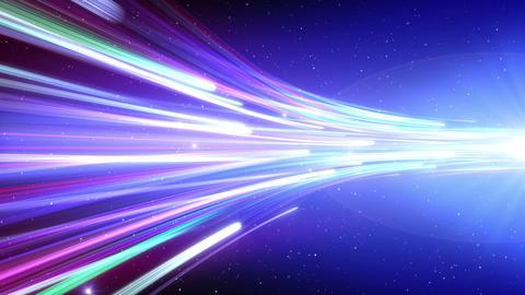 Light Beam Line 2 G 5 4 K CG動画