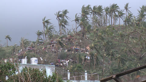 Extreme Hurricane Wind Damage Tacloban Typhoon Haiyan Footage