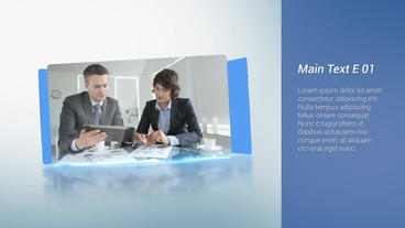 Simple Corporate Display After Effects Template