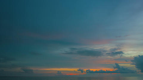 Breath-taking View Of A Beautiful Sunrise In Timelapse stock footage