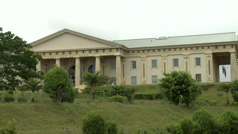 Palau Capitol Building Footage