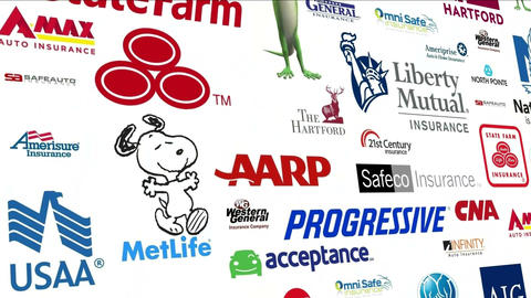 *REVERSE* Auto Insurance Logo Loop Animation