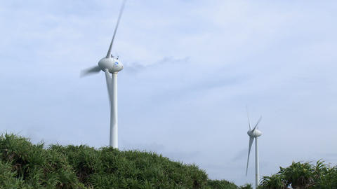 Renewable Wind Energy Turbines In Gale Live Action