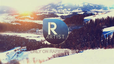 Logo 3 D In Nature 5 ( Winter ) After Effects Template