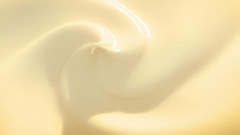 Vanilla Cream in Looped Animation. HD 1080 Animation