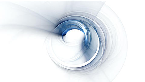 Whirlpool, Dynamic Blue Rotational Motion Animation