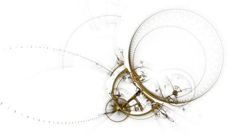 Broken Mechanism, Ancient Metallic Cogwheel Animation
