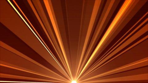 Rotating Light Beams Animation - Loop Orange Red Animation