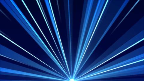 Rotating Light Beams Animation - Loop Blue Animation