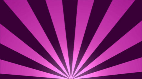 Rotating Stripes Background Animation - Loop Pink Animation