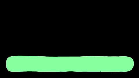 Liquid Lower Third - Green Animation