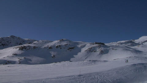 skier 04 Stock Video Footage