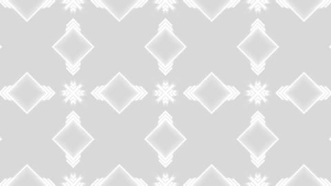 white pattern X Animation