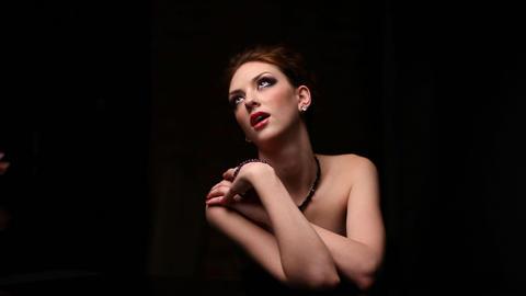 Woman portrait Stock Video Footage