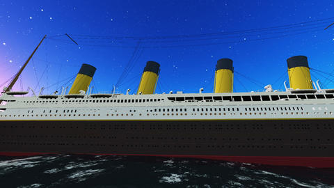 Titanic Stock Video Footage