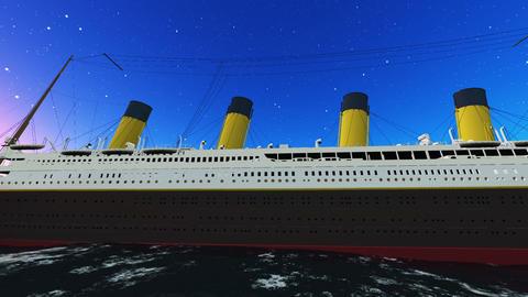 Titanic Stock Video Footage