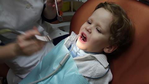 Brave kid Stock Video Footage