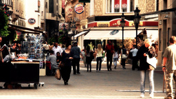 European City Street Budapest Hungary 15 stylized artsoft filmlook Footage